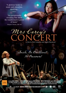 Mrs Carey's Concert Poster