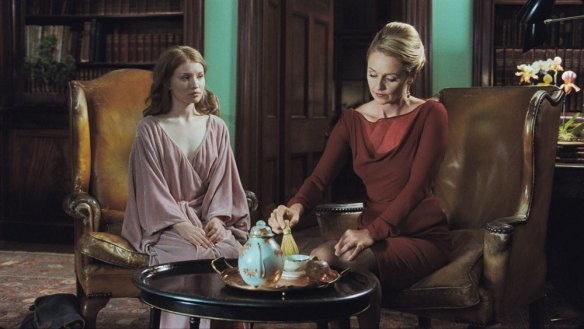 An initiation - Emily Browning and Rachael Blake in 'Sleeping Beauty'.