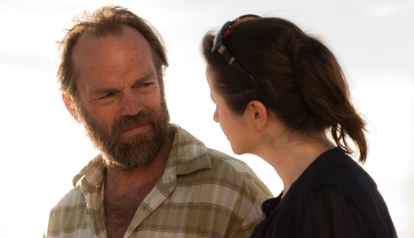 Margaret (Emily Watson) and Jack (Hugo Weaving) in 'Oranges and Sunshine'.