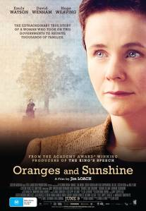 Oranges and Sunshine key art Australia