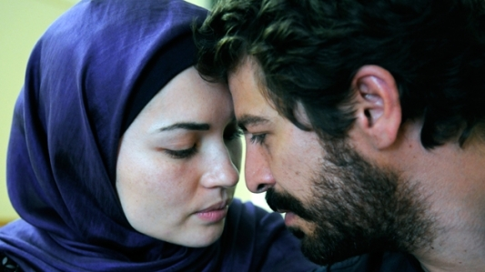 Tasneem Roc and Don Hany play a modern Muslim couple in East West 101