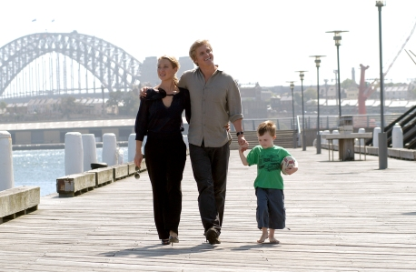 LMW Series 3 Julia and Charlie and Toby (Asher Keddie, Dan Wyllie & Byron Chaplain)