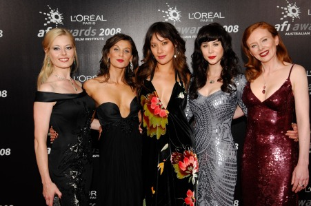 Leading Ladies from Satisfaction at 2008 AFI Awards