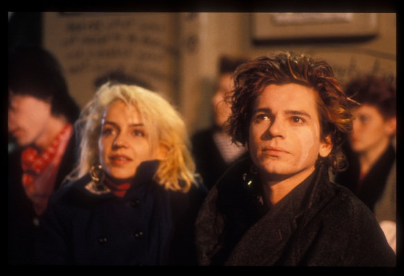 Saskia Post and Michael Hutchence in 'Dogs in Space', (1986).