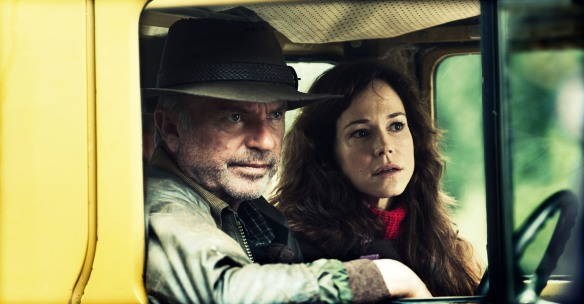 Sam Neill and Frances O'Connor, The Hunter