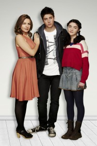 Justine Clarke, Lincoln Younes and Eva Lazarro in Tangle.