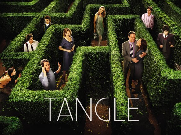 Tangle maze