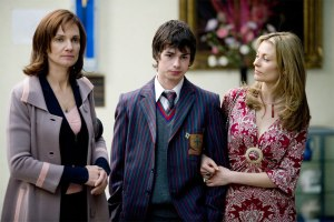 Two 'mums' competing for a son's love. Catherine McClements, Blake Davis & Kat Stewart in Tangle.